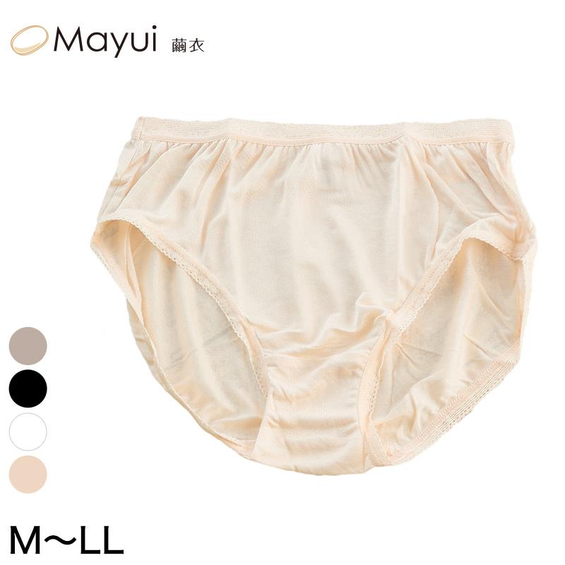 シルク100% 深めショーツ (M~LL)